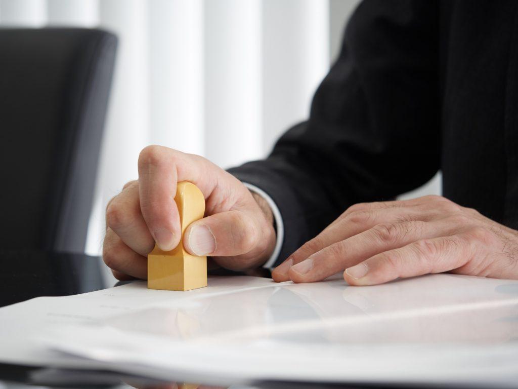 営業許可証の再発行